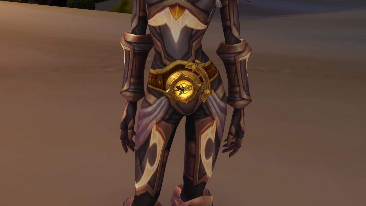 waist of time secret belt transmog