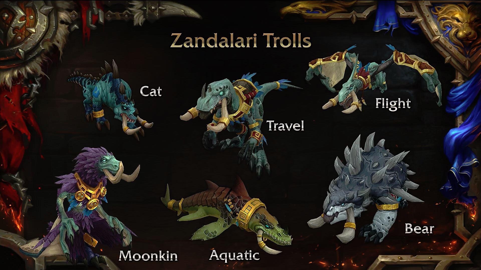 Zandalari Trolls Allied Race
